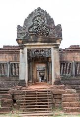 Banteay Samre entrance (Rambo2100) Tags: tower temple ancient cambodia khmer angkorwat unesco angkor sanctuary rama worldheritage ravana banteaysamre conservator suryavarmanii battleoflanka  rambo2100 mauriceglaize