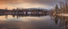(patrickgkelly) Tags: panorama lake mountain reflections morning sunrise clouds sky trees