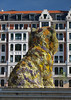 'Puppy' by Jeff Koons (SteveInLeighton's Photos) Tags: may 2014 spain bilbao bilbo biscay basquecountry museum euskalherria bizkaia vizcaya jeffkoons puppy guggenheim sculpture espana