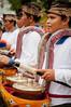 playing the drums (Sam Scholes) Tags: watertemple lakeofholymountain bedugul puraulundanubratan travel lakebratan purabratan shivaite bali hinduism vacation indonesia temple hindu baturiti id