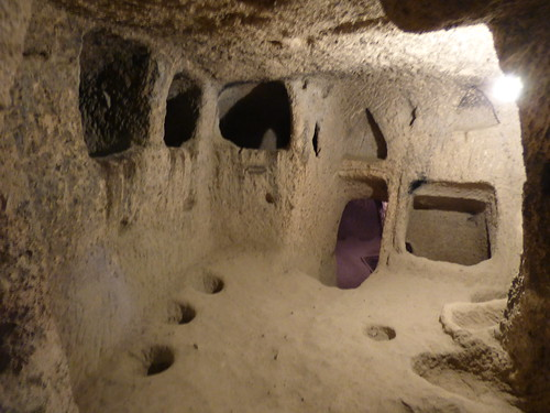 Kaymakli - underground city - house (8)