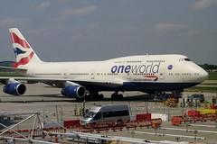 G-CIVZ Heathrow 27 May 2016 (ACW367) Tags: gcivz boeing 747400 britishairways heathrow