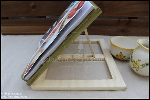 """Suporte para livros """"Vintage Green"""""""