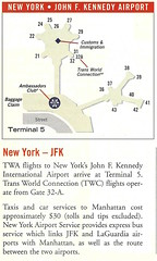 TWA JFK diagram, 2001 (airbus777) Tags: twa transworldairlines twaflightcenter jfk map diagram newyork newyorkjohnfkennedy airport 2001 terminal5