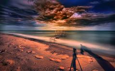 The sea of Spring (* landscape photographer *) Tags: scanzanojonico lucania italy seascape sunset tramonto landscapephotographer spring sea mare marejionio colori colors flickr 2017 nikon nikkor