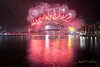 Sydney Wishes You A Happy New Year (East Western) Tags: happy new year sydney harbour bridge harbor port jackson fireworks fire works cracker nye 2016 2017 admiralty house view australia governor general kirribilli north eve december 31st