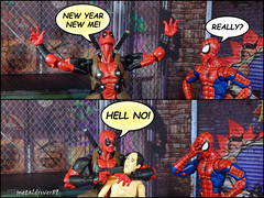 New Year New Me (sort of) (metaldriver89) Tags: deadpool wadewilson wade wilson humorous funny lol chimichangas fox studios avengers baf wave marvel legends marvellegends comics marvelcomics actionfigures action figure acba articulated comic book art articulatedcomicbookar humor photoshop photography toyphotography mcu hero superhero toy toys figures actionfigure hasbro articulatedcomicbookart manga indoor hydra soldier hyrdrasoldier bob vs xmen revoltech revoltechdeadpool kaiyodo amazing yamaguchi figurecomplex complex spiderman spidey ega egashira webhead happy new year happynewyear 2017
