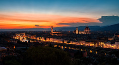 Florence in Summer 2016 (fnatic2013) Tags: italy tuscany florenz florence church sundown
