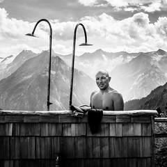 Yes, it's cold, thanks for asking (Frank Busch) Tags: frankbusch frankbuschphotography imagebyfrankbusch photobyfrankbusch austria gamshütte john mountains outside shower wwwfrankbuschname zillertal