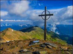 Standing On The Top (angelofruhr) Tags: supershot berge mountans gipfelkreuz top