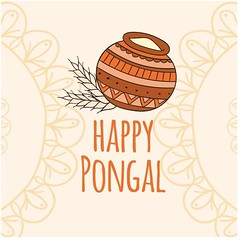 free vector Happy Pongal Day Traditional mud pot with rice Background (cgvector) Tags: agriculture asian banana banner card celebration coconut colorful creative culture decoration ethnic farmer festival floral food fruit grain greeting happy harvest health hindu holiday india indian leaf makar mango mud nadu pongal poster pot prosperity rangoli red religious rice sankranti shiny south sugarcane sun sweet tamil thankful traditional vacation flower illustration tradition vector wheat