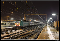 NMBS 2825 - 13487 (Spoorpunt.nl) Tags: 13 januari 2017 nmbs 2825 alpen expres 13487 station venlo nacht
