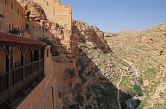 The Kidron Creek Canyon (Lars Ørstavik) Tags: kidron kidroncreek kidroncanyon canyon marsaba marsabamonastery monastery judeandesert desert sewer contaminated contamination cleaning jordanriver palestine