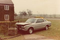 1978 Datsun 180B SSS, 20/2/83 (Spottedlaurel) Tags: datsun 180b sss 810 bluebird tvp205s accident rta
