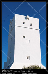 Torrealta (__Viledevil__) Tags: blue tower white building hightower watchtower fortification architecture sky landmark high structure historic castle fort stronghold wall old protection defense keep medieval stone citadel historical defence turret