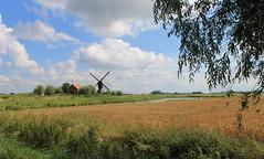 Nederland -Noord-Brabant - Uppel - Uitwijkse Molen- (@-Loes) Tags: mill molen moulin dutch mühle molino moinho mulino 磨