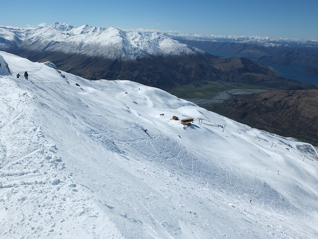 Upper Gun Barrel, Treble Cone Wanaka NZ (9 Sept 2013)