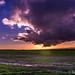 140119-DSC00355 Sunset over Bredon and Malvern Hills Stockwood Worcestershire Inkberrow.jpg