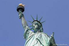 Statue of Liberty (VidarSig) Tags: usa newyork statueofliberty libertyisland newyorkharbor stytta americansymbol bandaríkin listaverk thefaceofamerica frederickagustebartholdi frelsisstyttanínewyork