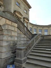 Kedleston Hall Facade (jacquemart) Tags: england adam heritage history architecture classical statelyhome nationaltrust neoclassical countryhouse kedlestonhall robertadam adamstyle kedlestonhallderbyshire