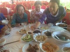 Nos repas avec le tour organisé à Jiuzhaigou