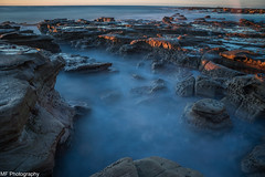Rock on (Mick Fletoridis) Tags: longexposure seascape water sunrise rocks surf australia rockpool canonlens coalcliff leefilters bigstopper sonya7