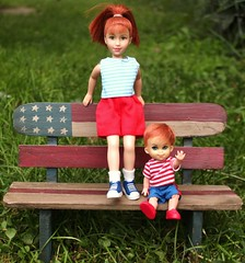 Happy Fourth of July! (tamsykens1) Tags: world fern dolls dream 4th july tammy pg tommy read when bernie bunsen fourth kiddles kiddle kellyd i