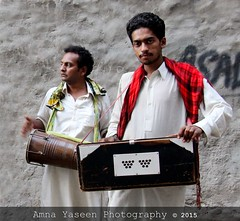 Untitled 29 (Amna Yaseen) Tags: pakistan male men musicians folk instrument harmonium musicalinstruments 2015 dholki