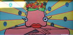 Mechelen Muurt (Red Cathedral [FB theRealRedCathedral ]) Tags: summer streetart art graffiti cosplay mechelen larp malines redcathedral eventcoverage aztektv ravenbergstraat kreashit mechelenmuurt kshit mechelsfruit