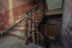 (benjihultsch) Tags: abandoned stairs canon germany lost decay haus treppe staircase urbanexploration villa 6d urbex lostplace hausdesdoktors