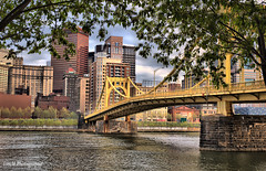 Pittsburgh Skyline from the River Walk