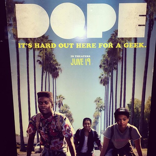 #DOPE #BESTMOVIE #zoekravitz #asaprocky #chaneliman best movie experience I've had in a long time. Smart!