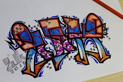 (2uk5) Tags: zuks art new sketch graffiti graff style merrychristmas colors paper a4 camouflage design 2016