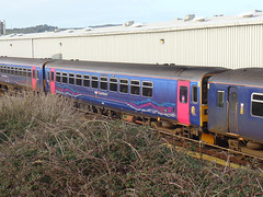 153318 Longrock TMD (Marky7890) Tags: gwr 153318 class153 supersprinter longrocktmd railway penzance cornwall train