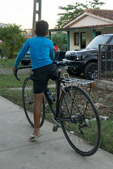 Vinales, Cuba (Quench Your Eyes) Tags: caribbean forest bicyclist biketour cuba cuban cyclist island nature town travel vinales
