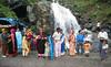 Indian tourists, Rohtang Pass (Niall Corbet) Tags: india himachalpradesh himalaya himalayas manali rohtang rohtangla rohtangpass manalitoleyhighway waterfall tourist tourism