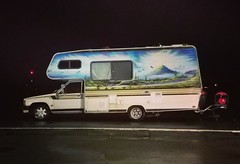 This'll Do for Now (rickele) Tags: motorhome airbrush cabover rv toyotachassis stealthcamping