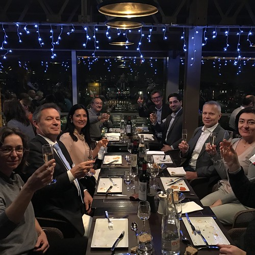 "EPIC Biophotonics Workshop ""Translating Biophotonics Technologies to Clinical Oncology dinner at eiffel tower(35)"