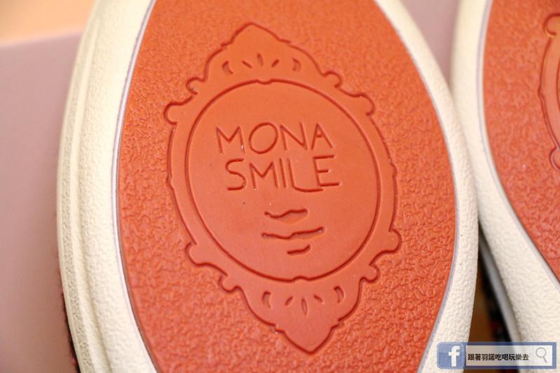 MonaSmile 蒙娜微笑手工耐久站兩穿厚底鞋021