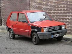 1992 Fiat Panda 750 Fire Mania (GoldScotland71) Tags: k704akv