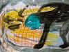 I Saw Otter Man (giveawayboy) Tags: ballpoint pen crayon drawing sketch art acrylic paint painting fch tampa artist giveawayboy billrogers mountainman otterman otter wmotf cryptid kushtaka curious playful playing