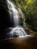 The place where the light falls (ajecaldwell11) Tags: trees forest falls waterfall ankh bush water australia poolofsiloam light bluemountains caldwell newsouthwales jamisonvalley