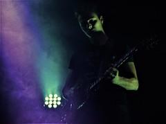 Rubiera Blues guitar-man (Francesca Ricci Nature & Life) Tags: man guitar colour power music soul live band tribute ligabue lovemusic blue purple violet portrait concert