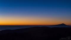 Sunset over the cloud sea (simondurand) Tags: sunset sunrise clous sloud sea nuages mer love coucher soleil ventoux mont mount