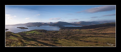 Part of The Loch (vaughaag) Tags: loch lomond balmaha conic hill walking views water scotland stunning samyang 8mm fisheye