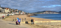 The seafront at Lyme Regis, Dorset (Baz Richardson (catching up again!)) Tags: dorset lymeregis seaside coast beaches seasideresorts