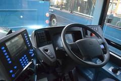 Arriva Merseyside 4824 - BW66 GYO (North West Transport Photos) Tags: arriva arrivamerseyside arrivanorthwest lairdstreet lairdstreetdepot arrivabirkenhead bus busdepot volvo b5 b5lh volvob5lh wright wrightbus gemini gemini3 eclipse wrightgemini3 bw66gyo 4824 interior businterior cab steeringwheel dash dashboard
