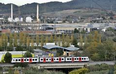 Línea Llobregat-Anoia (Andreu Anguera) Tags: automotoreléctrico serie213 fgc ferrocarrilsgeneralitat líneallobregatanoia santandreudelabarca baixllobregat barcelona cataluña catalunya andreuanguera