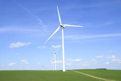 Wind Turbine (BillikenHawkeye) Tags: crawfordcounty iowa windmill windfarm windturbine windpower cleanenergy day spring renewable electricgeneration rural field road
