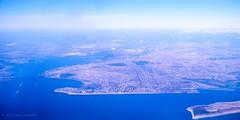 The 5 Boroughs (Raphe Evanoff) Tags: nyc film landscape urban aerial brooklyn manhattan queens staten island bronx coney verrazano rockaway